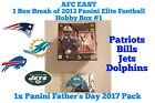 1x Panini Father's Day Pack - AFC East 1 Hobby Box Break 2013 Elite Football #1