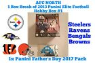 1x Panini Father's Day Pack - AFC North 1 Hobby Box Break 2013 Elite Football #1