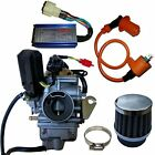 26mm Carburetor for GY6 150 150cc Race Performance CDI Box Ignition Coil Air
