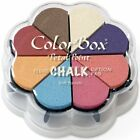 Clearsnap Colorbox Fluid Chalk Petal Point Option Inkpad Soft Pastels 8 Color