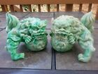 5H Chinese Lucky Lion Foo Dogs Statue