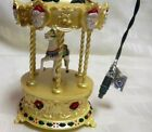 1994 Tobin Fraley Lighted & Musical Carousel Horse Ornaments Hallmark