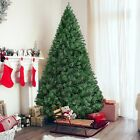 Christmas Premium Artificial Pine Full Tree Hinged 6Ft Metal Leg Green 1000 Tips