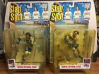 MCFARLANE SLAP SHOT HANSON BROTHERS ACTION FIGURES 2 BLOODY 1 REG SET OF 3