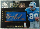 Barry Sanders 2014 Panini Black Gold Sizeable Signatures Lions Auto Jersey 9 10