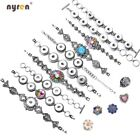 Metal Snap Charms Bracelet Multi Styles Fit 12 18mm Snap Button Snap Jewelry