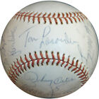 1977 Los Angeles Dodgers National League Champions Team Signed Baseball PSA DNA
