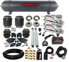 2005-18 Chrysler 300 Air Suspension Drop Kit 580 Compressors & Blk Aluminum Tank