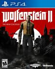New Brand Wolfenstein II: The New Colossus 2017 - PlayStation 4 -Free Shipping!!