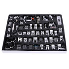 52pcs/set Domestic Sewing Machine Foot Feet Presser Snap On For Brother Singer