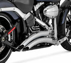 Vance  Hines Chrome Big Radius Exhaust for 2013 2014 Harley Softail Breakout