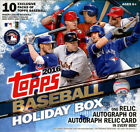 2016 Topps Holiday Baseball Sealed Box - 1 Auto or Relic - Snowflake Parallels
