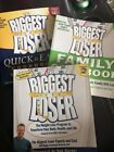 3 Biggest Loser Cookbook Family Quick  Easy weight loss program books