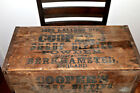 ANTIQUE SHEEP DIPPING POWDER WOODEN BOX GREAT TEXT ON THE BOX