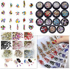 50 pcs Small Shape Top Crystal AB Czech Crystal Rhinestone Flatback Nail Art 03