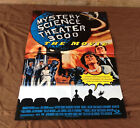 1996 Mystery Science Theater 3000 Original Movie House Double Sided Full Sheet