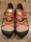 J 41 Adventure On Sz 85 M US Womens Genesis Vegan Brown Coral Mary Jane Shoes