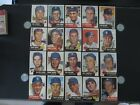1953 TOPPS BASEBALL CARD LOT CONDITION FINISH YOUR SET BUY ONE OR ALL