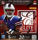 (2) BOX LOT 2013 PANINI ELITE FOOTBALL SEALED HOBBY BOXES