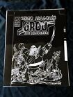 Groo the Wanderer 6 Cover PACIFIC COMICS Publishers File Negative ARAGONES 1982