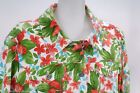 Liz Claiborne Petite 1X Jacket Beautiful Floral Fitted 3/4 Sleeve Tie Mint 6642