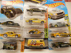 Hot Wheels MOONEYES Custom lot of 6 2prostocks 2 chargers kool kombi vw van