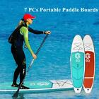 7 in 1 Portable Inflatable Stand Up Paddle Board Surfboard Fin Pump Backpack Kit