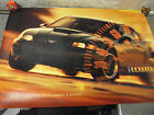 2001 Ford Mustang GT BULLITT Limitied Edition Promo Poster 39 x 27 Sequel