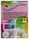 Thread Director Spool Pin Adapter With New, Improved 4-Screw Base Sewing Machine