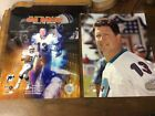 Dan Marino 7 Photos In 8x10 With 2 Hall Of Fame Magizines In 2005