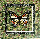 Monarch Paper Piecing quilt Pattern by Silver Linings