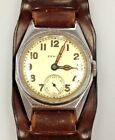 Zenith Mens watch cal 10 1/2-2 with sub dial Run Great  Looks great