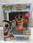 NEW SDCC Exclusive Sticker 2017 Funko Pop Disney Winnie the Pooh Tigger Flocked