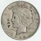 Over 90 Years Old 1922 Peace Silver Dollar 90 Silver 724