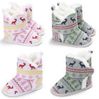 USA Toddler Infant Baby Boy Girl Moccasin Shoes Soft Sole Boots Prewalker Shoes