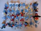 MIXED LOT OF 32 SMURF & SMURFETTE FIGURES - some vintage