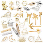 Fashion Animal Leaf Geometry Hair Clip Hairpin Barrette Bobby Pin Stick Jewelry