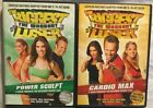 The Biggest Loser workout 2 DVD Boot Camp Power Sculpt  Cardio Max