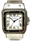 CARTIER SANTOS AUTOMATIC 29MM STAINLESS STEEL WATCH 2319
