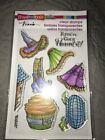 Stampendous Clear Stamp Set witchy Legs SSC1230 Halloween
