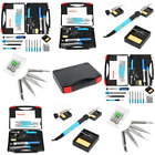 Soldering Iron Kit 60W 110V Adjustable Temperature Electronic Tools Accessory