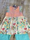 NWT Girls Matilda Jane Once upon time Bold  Bright tunic top Size 8 TWEEN