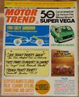 NOVEMBER 1974 MOTOR TREND MAGAZINE SUPER VEGA, VW 16-SEATER, PORSCHE 25 YEARS
