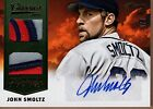 2014 Panini Classics John Smoltz Dual Patch & Auto October Heroes #2 5 Braves