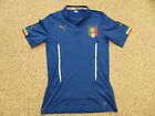 NWT Puma 2014 World Cup Italy Authentic Blue Home Jersey (Men Size XL)