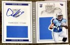 Autographed Auto David Cobb 2015 Panini Playbook Rookie Booklet Book 45 199 RC
