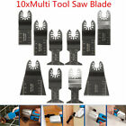 10pcs Multitool Saw Blade AAccessorie.s For Dewalt Stanley Black and Decker B...