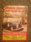 1937 Catalog WESTERN AUTO Stores Auto Owners Supply Book