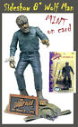 SIDESHOW UNIVERSAL MONSTERS 8 LON CHANEY JR THE WOLF MAN MOC