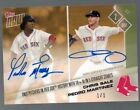 5 2 2017 Topps Now #104C - Chris Sale & Pedro Martinez Red Sox Dual Auto #1 1!